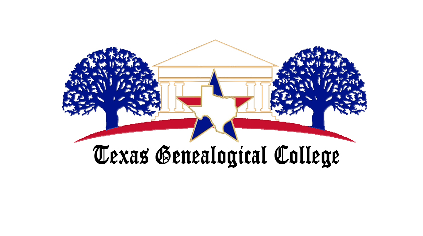 Header Image of the Texas Genealogical College