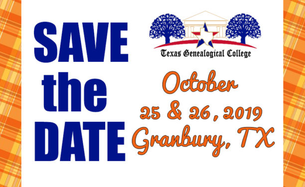 Save the Date for 2019 Conference